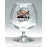 Brandy Glass 12oz Clear
