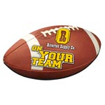 Football Shaped Mousepad 4CP