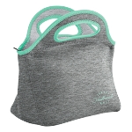 Klutch Heathered Jersey Knit-Neoprene Lunch Bag