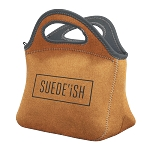 Klutch Suede-ish Neoprene Lunch Bag