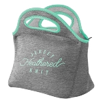Gran Klutch Heathered Jersey Knit Neoprene Lunch Bag