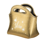 Gran Klutch Metallic Neoprene Lunch Bag