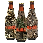 Trademarked Camo Bottle Coolie