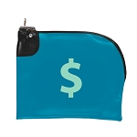Curved Zipper Night Deposit Bag EV 10.5x9