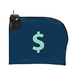 Curved Zipper Night Deposit Bag EV 12x10