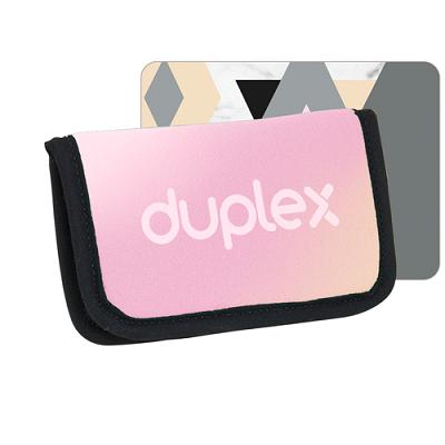 Numo neoprene business card holder 4 color process duplex neoprene business card holder 4cp duplex reheart Images