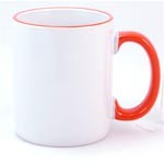 Heartland Ceramic Mug 13oz Orange