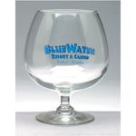 Brandy Glass 22oz Clear