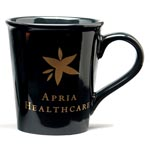 Ceramic Java Mug 15oz Black