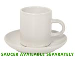 Ceramic Espresso Cup 3 oz White