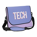 Neoprene Messenger Bag w/strap 1-C up to 15