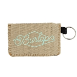 Card Guard Burlap Neoprene