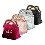 Klutch Velvet Neoprene Lunch Bag