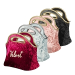 Gran Klutch Velvet Neoprene Lunch Bag