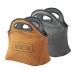 Gran Klutch Suede-ish Neoprene Lunch Bag