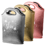 Venti Metallic Neoprene Lunch Bag