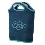Venti Denim Neoprene Lunch Bag