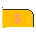 Curved Zipper Bag LN 10.5x5.5
