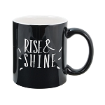 Two Tone Mug 11oz. Black/White