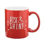 Two Tone Mug 11oz. Red/White
