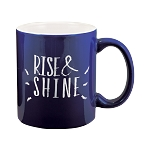 Two Tone  Mug 11 oz. Cobalt/White