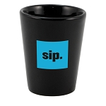 Shot Glass Black 1.5oz