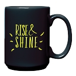El Grande Ceramic Mug 15 oz. Black