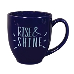 Solid-Color Bistro Ceramic Mug 16 oz. Cobalt