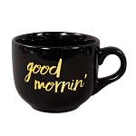 Latte Ceramic Mug 16 oz. Black