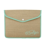 Snapfolio for Macbook Air/Pro Burlap Neoprene