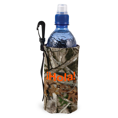 Trademarked Camo Scuba Bottle Bag TC