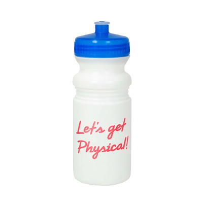20 oz. White Bio Bottle Push Pull lid