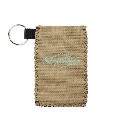 Card Guardian Burlap Neoprene